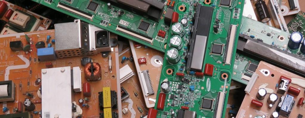 Riesgos laborales en la Basura electronica