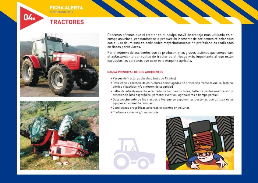 Ficha Alerta. Tractores